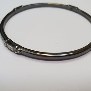 Lia Sophia Hematite Bangle